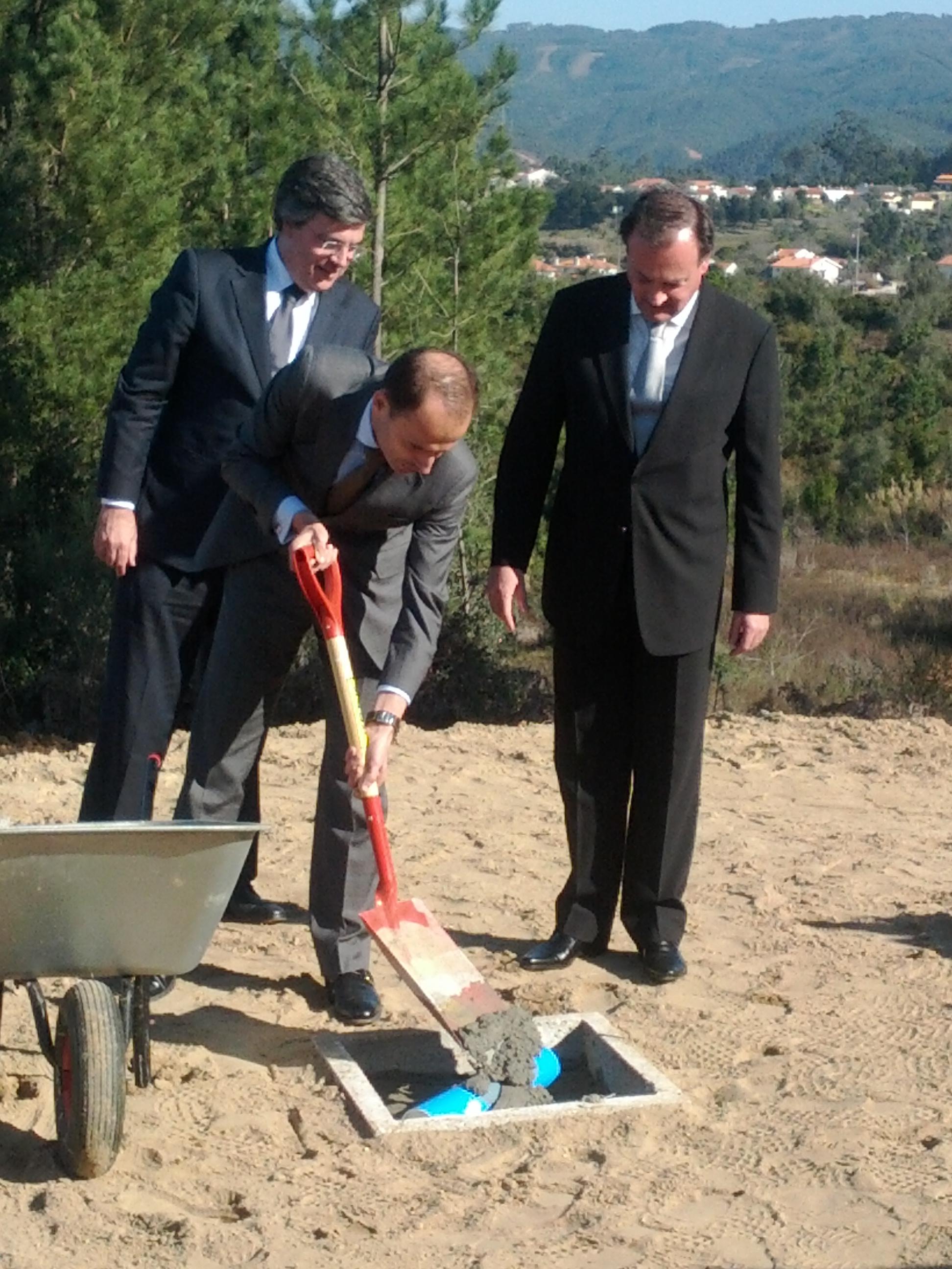 Lançamento da 1ª Pedra da construção do Lar de Idosos Domus Aeminium