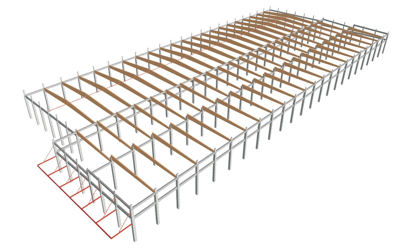 Projeto de Unidade Industrial e Muros - TOSCCA