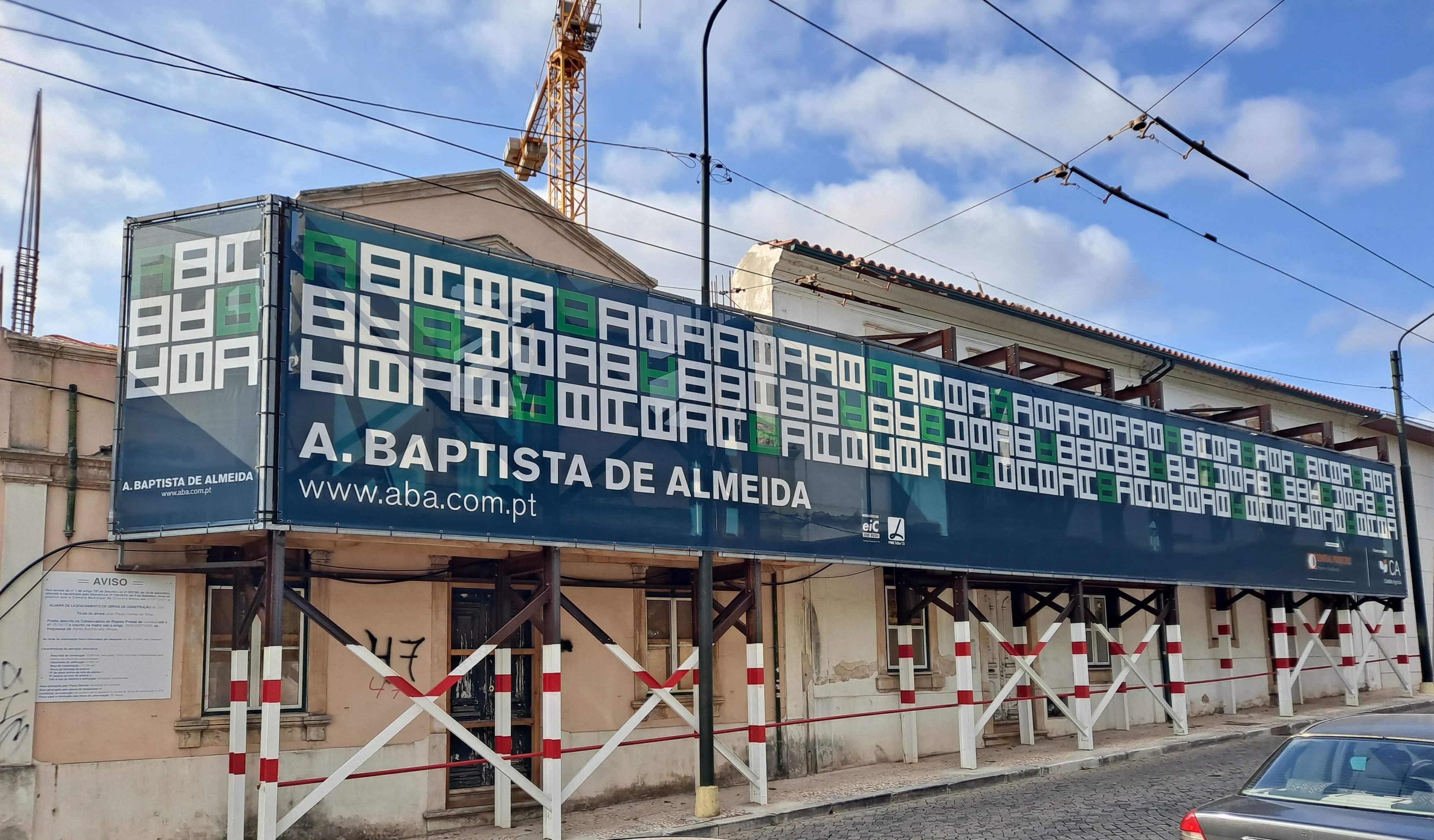 Obra de Reabilitação, Ampliação e Alteração de uma Habitação Multifamiliar - Coimbra